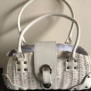 Danier Vintage Wicker Handbag